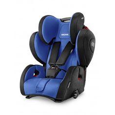 Recaro Young Sport Hero - Silla auto grupo 1/2/3.  La silla de auto Recaro Young Sport Hero es la silla de Recaro que se ocupa de proteger a los peques desde los 9 meses hasta los 12 años. Con arnés de seguridad de 5 puntos y cojín reductor para los más pequeños, aproximadamente 4 años y con el cinturón de seguridad del automóvil hasta los 12 años.