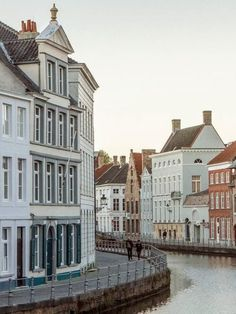 wander the quaint streets of bruges, belgium