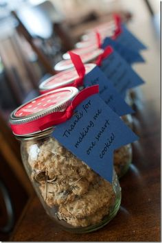 Teacher Gifts: Thanks for making me one smart cookie!