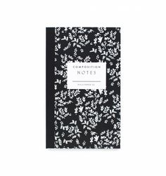 Composition Small Notepad with Pocket