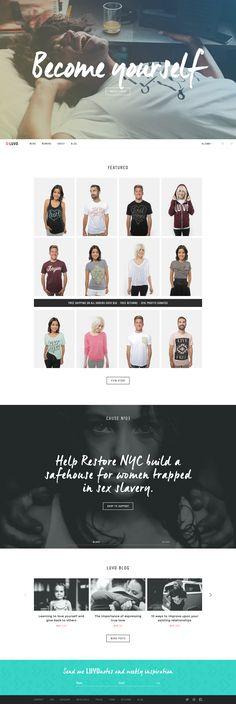 Fullsize Clean Websites, Clothing Sites, Site Design, Web Design Inspiration, User Interface, Ecommerce, Identity, Desktop, Life Quotes