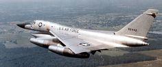 USAF Convair B-58 Hustler strategic bomber of the Cold War era. Such a sexy plane.