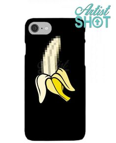 5735fdf12e88c X Banana Pixel Art. Get amazing cases on artistshot  funny  banana  fruits