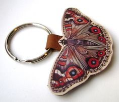 butterfly keychain-SR