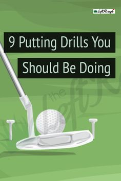 Unfortunately, you are not going to start making any more putts without a little work. Here are the best putting drills to get results fast. golf Putting Homework: The 9 Best Putting Drills You Should Be Doing Golf R, Play Golf, Kids Golf, Golf Chipping Tips, Golf Putting Tips, Golf Practice, Golf Drivers, Golf Instruction, Training