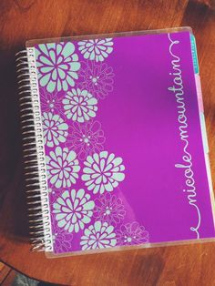 gorgeous!  #eclifeplanner