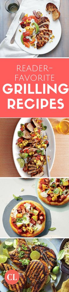 20 Healthier Grilling Recipes That Earn Top Marks From Our Readers - Cooking Light Healthy Grilling Recipes, Healthy Summer Recipes, Healthy Snacks, Grilled Recipes, Easy Food To Make, Cooking Light, Top Marks, Family Meals, Dinner