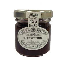 Wilkin and Sons Ltd Strawberry Jam Jar 42 g (Pack of 72) by Wilkin & Sons Ltd, http://www.amazon.co.uk/dp/B00DE6F1JW/ref=cm_sw_r_pi_dp_y8rcsb1W2S5D0