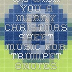 We wish you a merry christmas sheet music for Trumpet - 8notes.com