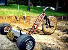 Drift Trike with License Plate Drift Kart, Drift Trike Motorized, Custom Trikes, Balance Bike, Engin, Kids Ride On, Big Wheel, Bike Frame, Mini Bike