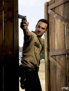 Rick Grimes (Andrew Lincoln) - The Walking Dead
