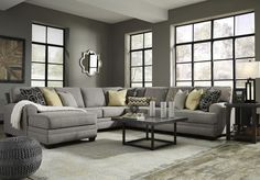 Cresson 5 Pc. LAF Chaise Sectional (Clone)
