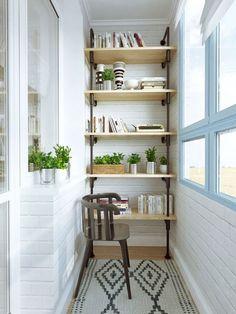 Otimizando espaços na decoração compacta