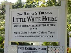 Key West State Of Florida, Florida Keys, South Florida, Key West Activities, Little White House, Picture Places, Sunshine State, Activity Ideas, Historical Sites