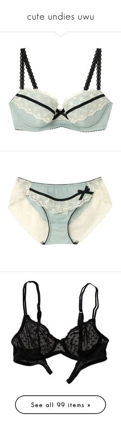 """cute undies uwu"" by crystalline-switchblade ❤ liked on Polyvore featuring intimates, bras, lingerie, underwear, lingerie bras, panties, undies, underwear panties, lingerie panty and underwear lingerie"