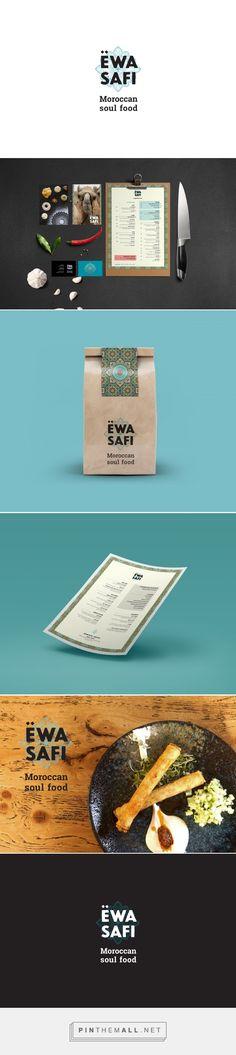 EWA SAFI Moroccan Restaurant Branding by Plan B Creative   Fivestar Branding – Design and Branding Agency & Inspiration Gallery