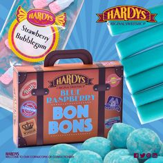 Feeling the #BlueMonday effect? Fear not, our blue reinforcements are on their way! Available in stores and online www.hardyssweets.co.uk