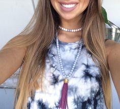 ••Coachella Inspired Tassel Necklace••