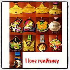 I ❤ runDisney!  SOMEDAY!  I will achieve my goal of running in the Disney races!