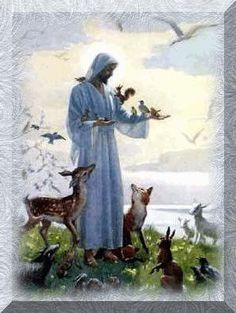 ♥St. Francis of Assisi, the patron saint of all animals - will need statues of him around the horses.