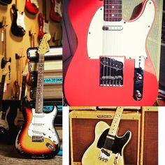Finally #fenderfriday has arrived! I believe I'll dust my broom!#fender #fenderstratocaster #fendertelecaster #stratocaster #strat #telecaster #tele #guitarplayer #guitar #electricguitar #guitarist #rock #jam