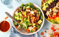 These light-and-fresh salads are a far cry from an iceberg salad with croutons. These light-and-fresh salads are a far cry from an iceberg salad with croutons. From Apricot Quinoa to an Apple Fennel Salad — these inventive salads, filled with grains, protein and delicious dressings are the kind you'll regularly crave.