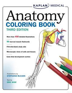 Anatomy Physiology Coloring Workbook: A Complete Study Guide (9th ...