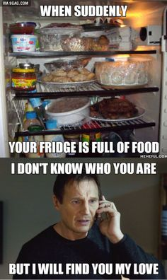 Don't know if I should get scared or not but I'm pretty sure the fridge was empty when I left and I live alone. Any suggestions what to do?