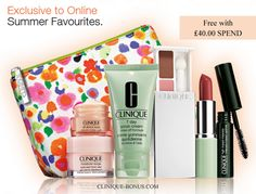 This is what you can get from Clinique UK - absolutely for free with any £40 spend on their website now. More info: http://clinique-bonus.com/united-kingdom/