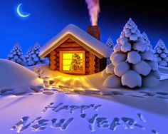 Happy New Year 2018 Quotes : Image Description Happy New Year 2018 Greeting Cards Wishes Happy New Year 2015, Happy New Year Images, Happy New Year Greetings, New Year 2018, Christmas Room, Christmas Night, Merry Christmas, Christmas Images, Xmas