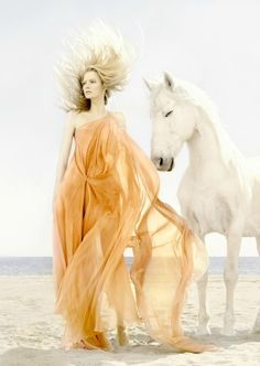 a girl and her horse = complete peace Horse Fashion Photography Learn about #HorseHealth #HorseColic www.loveyour.horse