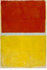 Mark Rothko, 'Sin título' (1952). 174 x 52 cm.