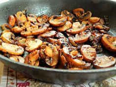 Steakhouse Mushrooms are such an easy skillet side for steak or maybe for roasted chicken. You can make them right on the grill if you'd like, or maybe you're more the type to cook them indoors. Either way, you're going to love this simple but scrumptious recipe for Steakhouse Mushrooms.