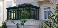 Für diese Jugendstilvilla plante und realisierte die Schubert Wintergartenmanufaktur einen englischen Wintergarten.
