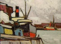Marc-Aurèle Fortin Canadian Painters, Canadian Artists, Group Of Seven, National Art, Museum Of Fine Arts, Sailboats, Watercolor Landscape, Visual Arts, Paintings