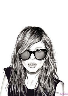 shu84: Tania Label Fashion Illustrations