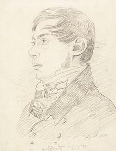 Anthony Vandyke Copley Fielding | Yale Center For British Art  John Varley (1778-1842), Anthony Vandyke Copley Fielding, 1810, graphite on paper, Yale Center for British Art, Paul Mellon Fund