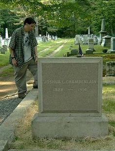 Visitors' Pictures of the Chamberlain Family Gravesites in Brunswick, ME