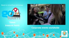 Multi-purpose platform to create engaging location-based experiences for many purposes.