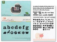 Making Memories - Slice Cartridge Design Card -  Animal Crackers