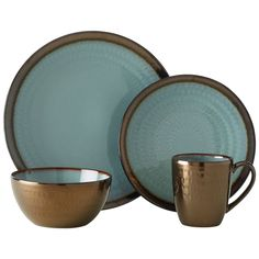 From Gourmet Basics by Mikasa® Collection. Crafted of Stoneware, featuring a reactive glaze. Due to the nature and hand-crafted qualities of reactive glaze, no two pieces are...