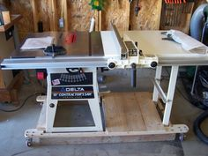 34 best table saw base images woodworking carpentry garage rh pinterest com