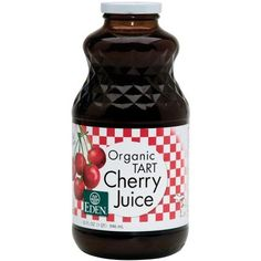tart cherry juice: muscle and joint pain relief, sleep aid, good for your heart, lots of antioxidants.