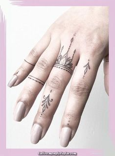 Legendary Tiny finger tattoos for girls; small tattoos for women; Rose Finger t . - sleeve - tattoo models - Legendary Tiny finger tattoos for girls; small tattoos for women; Rose Finger t … – sleeve – - Tiny Tattoos For Girls, Best Tattoos For Women, Small Tattoos With Meaning, Tattoo Girls, Trendy Tattoos, Cute Tattoos, New Tattoos, Tattoos For Guys, Cross Tattoos