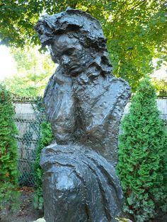 Beethoven, grand accoudé (1903) d'Antoine Bourdelle. Jardin-musée départemental Bourdelle ( Seine-et-Marne)