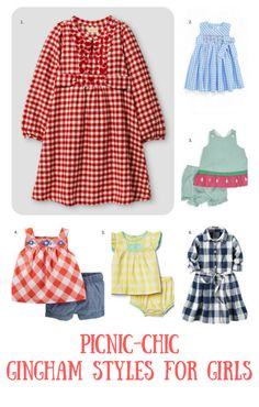 Gingham Styles for Toddlers | Spring Kids Fashion | Toddler Spring Fashion | Kids Spring Trends | Little Girl Spring Fashion