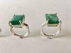 Natural Emerald Rings, Ring Designs, Cufflinks, Gems, Accessories, Jewelry, Jewlery, Jewels, Rhinestones