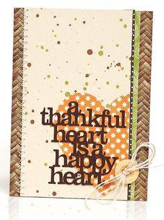 A Thankful Heart by Amy Sheffer