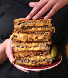 A griddled sandwich of ground beef, caramelized onions, cheese, and rye bread, the patty melt is a beloved staple of the burger lexicon.