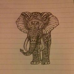 rib tattoos for girls Elephant Tattoo Design, Elephant Tattoos, Indian Room, Indian Art, Girl Rib Tattoos, Art Sketches, Art Drawings, Indian Elephant, Tattoo Inspiration